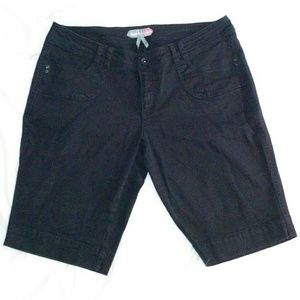 Boom Boom Jeans - Black Jean Above Knee Shorts 16W